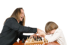 Game of chess Royalty Free Stock Photo