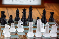 The game of chess Royalty Free Stock Image
