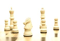 Game of chess Royalty Free Stock Images