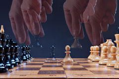 Game in a chess Royalty Free Stock Photography
