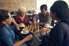 Game of chess Stock Image