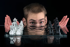 Game of Chess Stock Photos