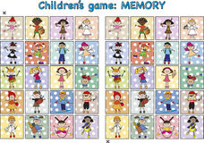 Game for children Royalty Free Stock Images