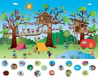 Game for children stock images