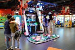 Game club interior Royalty Free Stock Photo