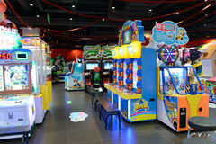 Game club interior Stock Image