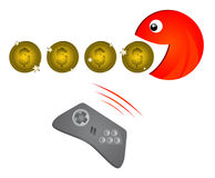 Game coins Stock Image