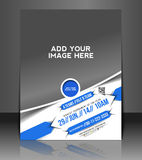 Game Competition Flyer Design Royalty Free Stock Photography