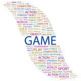 GAME. Royalty Free Stock Image