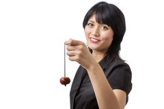 Game of conkers Royalty Free Stock Photo
