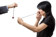 Game of conkers Stock Photography