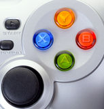 Game controller. The Game controller on a background Stock Image