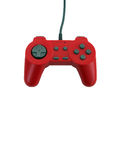 Game controller with clipping path Royalty Free Stock Photo