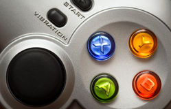The game controller Stock Photography