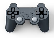 Game controller for console isolated on white Stock Photography