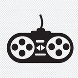 Game controller icon Royalty Free Stock Images