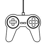 Game controller icon Stock Images