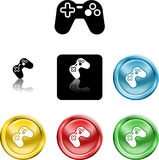 Game controller icon symbol Stock Images