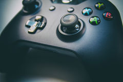 Free Game Controller - Side View Stock Image - 58898011