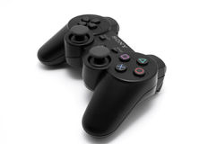 Game controller. For Sony Play Station 3 console Royalty Free Stock Images