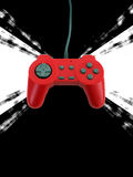 Game controller w clipping path Royalty Free Stock Images