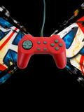 Game controller w clipping path Royalty Free Stock Photos