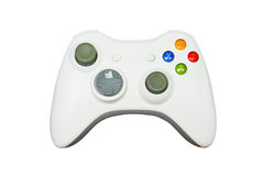 Game controller on white background Royalty Free Stock Images