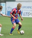Game CSKA Moscow vs. Terek Grozny Royalty Free Stock Photos