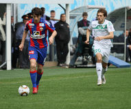 Game CSKA (Moscow) vs. Terek (Grozny) - (4:1) Stock Photo