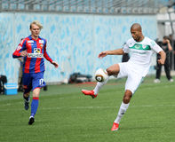Game CSKA (Moscow) vs. Terek (Grozny) - (4:1) Stock Photo