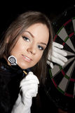 Game in a darts Royalty Free Stock Photo