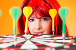 Game of darts Stock Image
