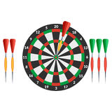 The game of darts Royalty Free Stock Photos