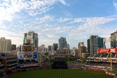 Game day at Petco park Stock Images
