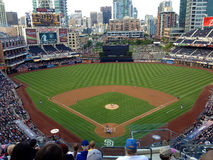 Game day at Petco park Royalty Free Stock Images