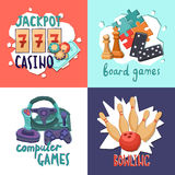 Game design concept Royalty Free Stock Photography