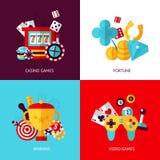 Game design set Royalty Free Stock Photos