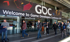 Game Developers Convention San Francisco 2017 Royalty Free Stock Images