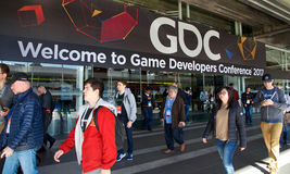 Game Developers Convention San Francisco 2017 Stock Image