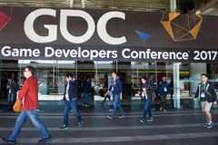 Game Developers Convention San Francisco 2017 Stock Photography