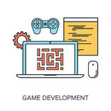 Game Development Royalty Free Stock Photography