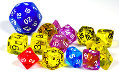 Game Dice stock photography