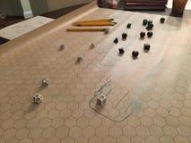 A game of dice Stock Photos
