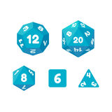 Game dice set Stock Photography