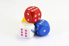 Game Dice Royalty Free Stock Photography