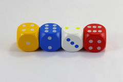 Game Dice Stock Photos