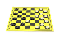 Game in drafts Royalty Free Stock Photo
