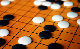 The game of go Stock Images