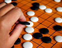 The game of go Stock Photography