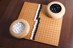 Game Go (Baduk) Stock Images